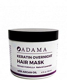 Zion Health Adama Minerals Keratin Hair Mask, Lavender with Argan Oil