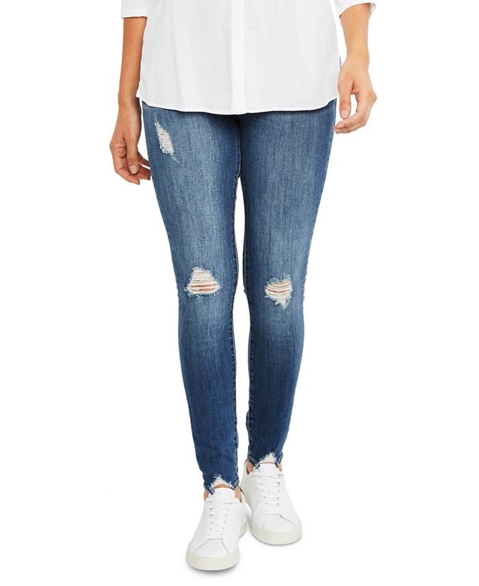 Articles of Society - Maternity Distressed Skinny Jeans