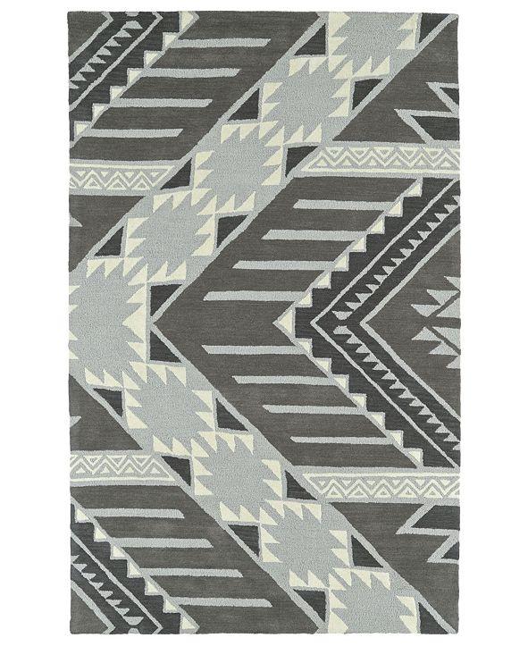 Kaleen Lakota LKT04-75 Gray 8' x 10' Area Rug