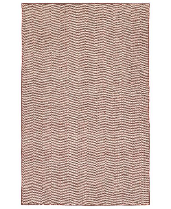 Kaleen Ziggy ZIG01-99 Coral 8' x 10' Area Rug