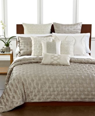 Hotel Collection Finest Silk Quilted Standard Sham
