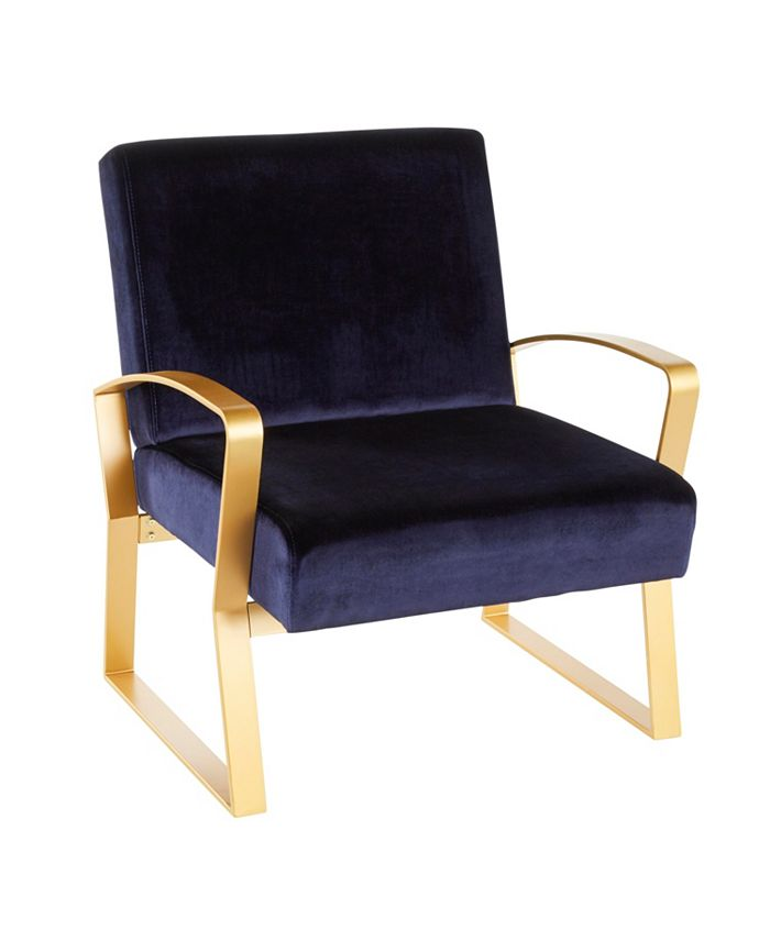 Lumisource - Henley Lounge Chair, Quick Ship