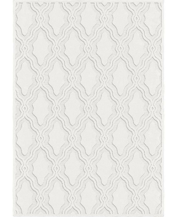 My Texas House ORI431308 Cotton Blossom Natural 9 'x 13' Area Rug