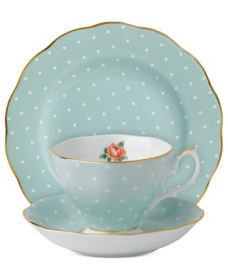 Royal Albert Polka Rose 3-Piece Set
