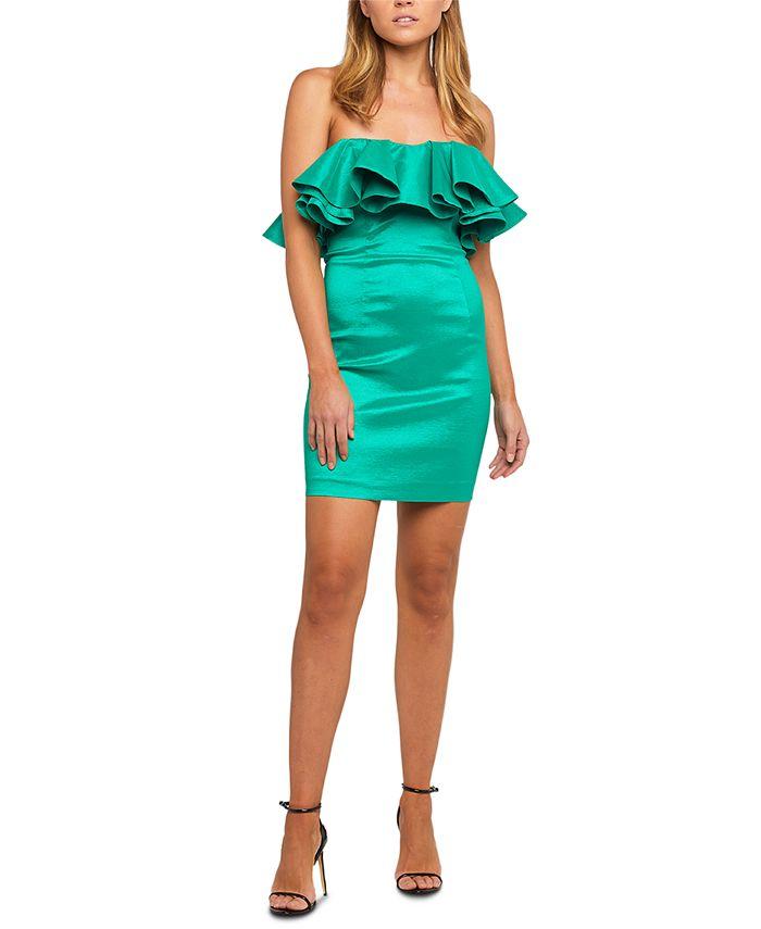 Bardot - Lulu Ruffled Mini Dress
