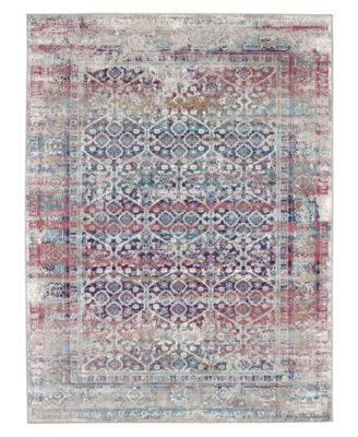 Meraki Phantasm Multi 2'4 x 7'10 Runner Area Rug