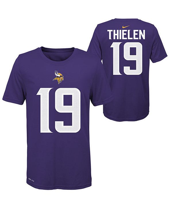 Nike Big Boys Adam Thielen Minnesota Vikings Pride Name and Number T-Shirt