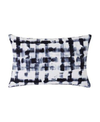 """Watercolor Plaid 12"""" x 18"""" Decorative Pillow"""