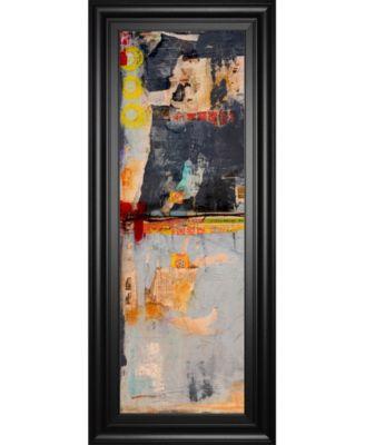 "Hong Kong Post I by Erin Ashley Framed Print Wall Art - 18"" x 42"""