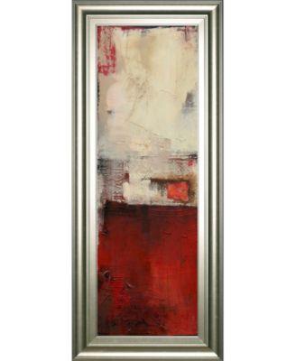 """Drop Box I by Erin Ashley Framed Print Wall Art - 18"""" x 42"""""""