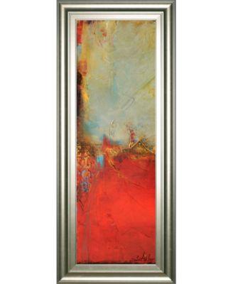 "Chicago St. Rush I by Erin Ashley Framed Print Wall Art - 18"" x 42"""