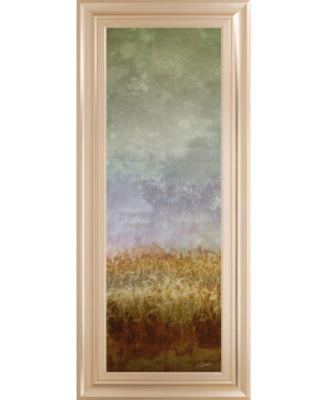 "Lush Field Il by John Butler Framed Print Wall Art - 18"" x 42"""