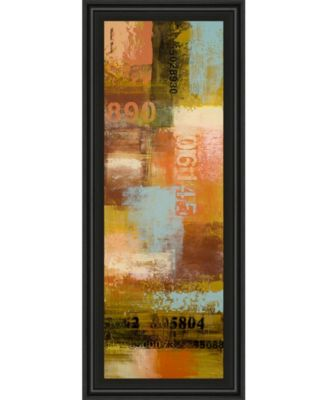 """Departures I by Michael Marcon Framed Print Wall Art - 18"""" x 42"""""""