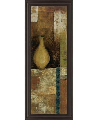 "Autumn Solitude I by John Kime Framed Print Wall Art - 18"" x 42"""