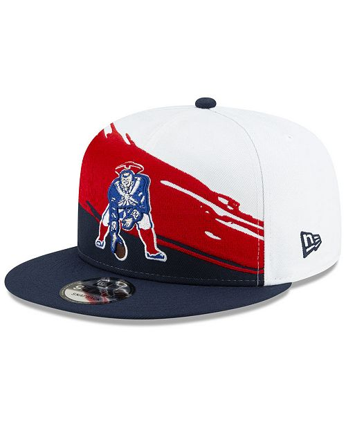 New Era New England Patriots Vintage Paintbrush 9fifty Cap Reviews Sports Fan Shop By Lids Men Macy S