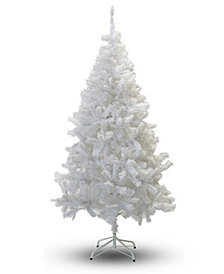 Perfect Holiday Crystal White Christmas Tree Collection