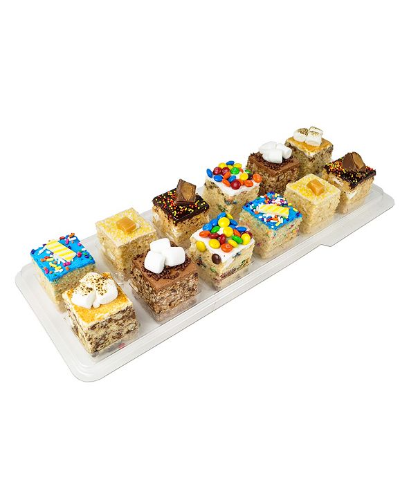 Treat House Selection of our Gluten Free Hand Made Rice Krispie Treats