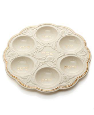 Lenox Judaica, Blessings Seder Plate