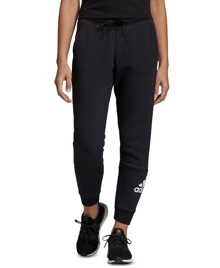 adidas - Fleece Logo Sweatpants