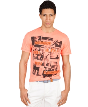 Marc Ecko Cut  Sew Shirts Short Sleeve Jet Setter Graphic T Shirt