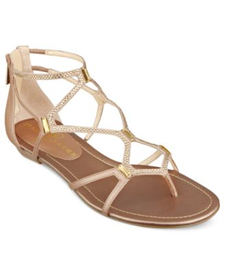 Ivanka Trump Shoes Kalia Flat Sandals Womens Shoes