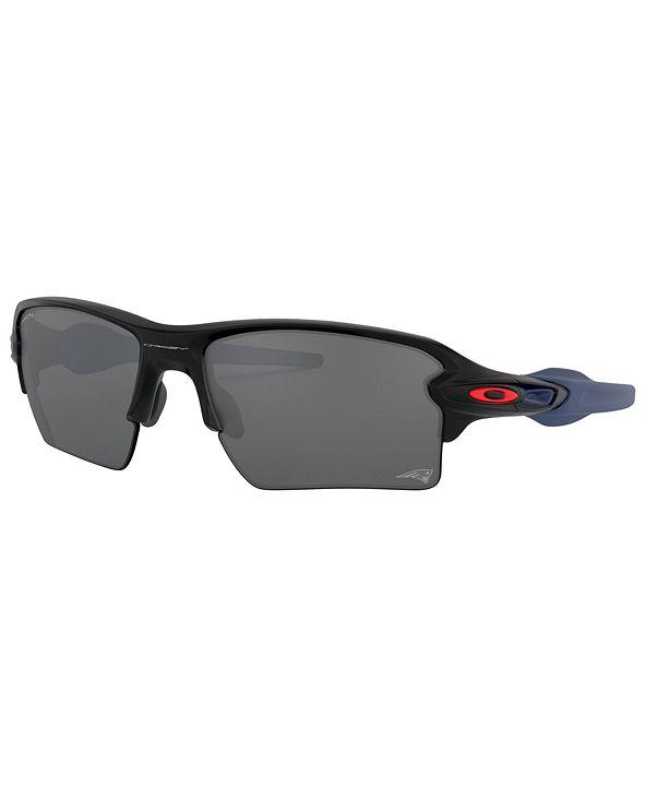 Oakley NFL Collection Sunglasses, New England Patriots OO9188 59 FLAK 2.0 XL