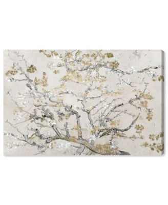 Van Gogh in Gold Blossoms Inspiration Light Canvas Art, 24