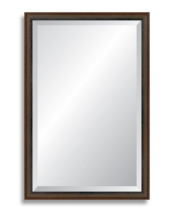 Reveal Frame & Décor - Robust Foundry Bronze Beveled Wall Mirror