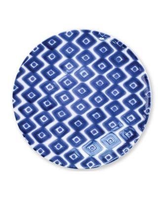 Santorini Diamond Dinner Plate