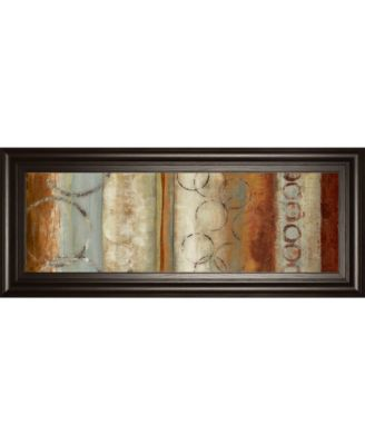"""Juncture I by Tom Reeves Framed Print Wall Art, 18"""" x 42"""""""