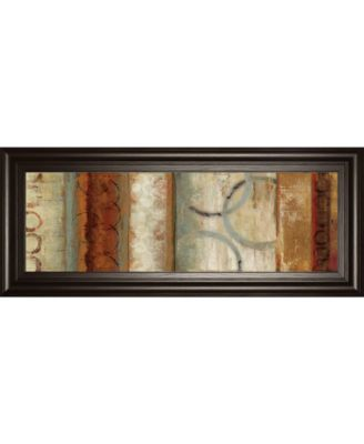"""Juncture II by Tom Reeves Framed Print Wall Art, 18"""" x 42"""""""
