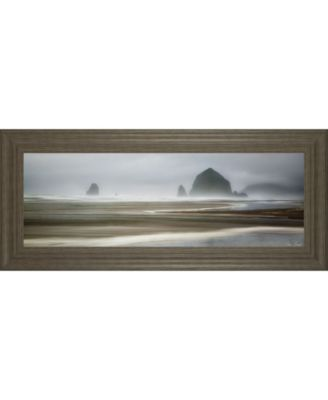 """From Cannon Beach I by David Drost Framed Print Wall Art, 18"""" x 42"""""""