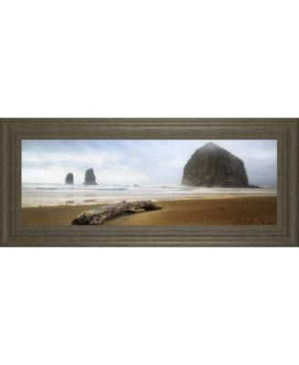 """From Cannon Beach II by David Drost Framed Print Wall Art, 18"""" x 42"""""""