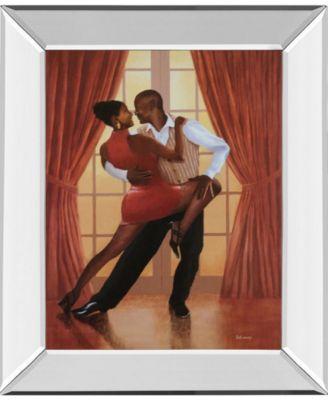 "Dancers Ii Mirror Framed Print Wall Art, 22"" x 26"""