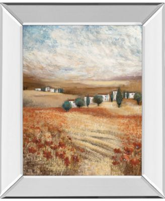 "Hilltown Lanscanadian Art Prints Inc. E II by Rosie Abrahams Mirror Framed Print Wall Art, 22"" x 26"""