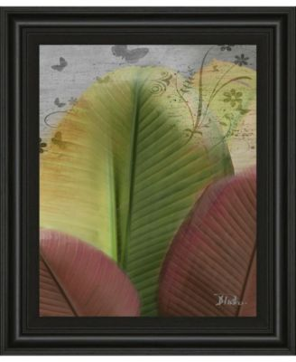 """Butterfly Palm I by Patricia Pinto Framed Print Wall Art, 22"""" x 26"""""""