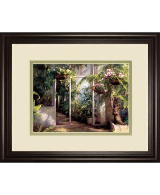 "Atriums First Light I by Hali Framed Print Wall Art, 34"" x 40"""