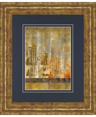 "Arculat II by Kemp Framed Print Wall Art, 34"" x 40"""