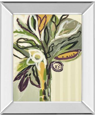 "Serene Floral II by A. Maritz Mirror Framed Print Wall Art, 22"" x 26"""