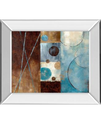 "Roll with It I by Nan Mirror Framed Print Wall Art, 22"" x 26"""