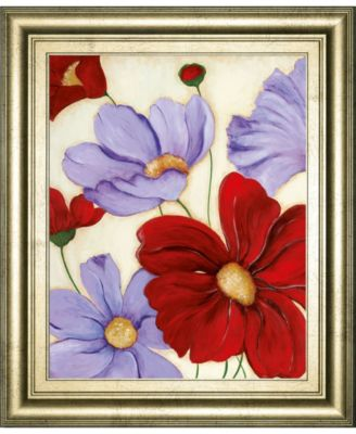 """Lavender and Red II by Tava Studios Framed Print Wall Art, 22"""" x 26"""""""