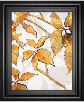 "Gold Shadows I by Patricia Pinto Framed Print Wall Art, 22"" x 26"""