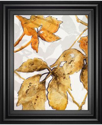 "Gold Shadows II by Patricia Pinto Framed Print Wall Art, 22"" x 26"""