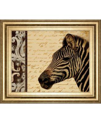 "Madagascar Safari II by Patricia Pinto Framed Print Wall Art, 22"" x 26"""