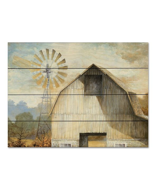 """Courtside Market Barn Country 12"""" x 16"""" Wood Pallet Wall Art"""