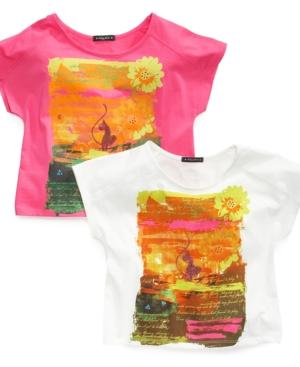 Baby Phat Kids Top Girls Graphic Sunrise Tee