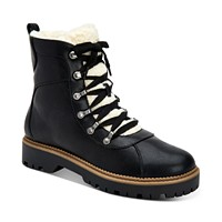 Style & Co Morggan Lace-Up Lug Sole Combat Booties