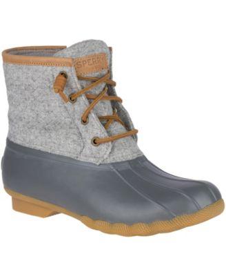 Sperry Saltwater Emboss Wool Boots