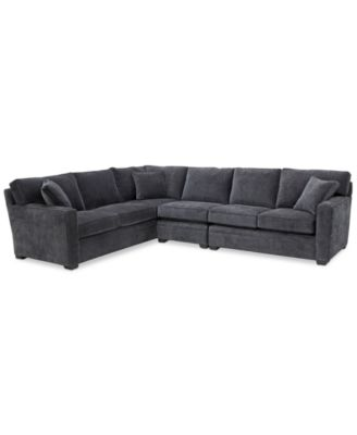 Brekton 3-Pc. Fabric Sofa Return