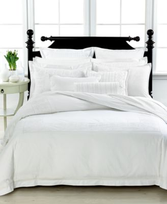 CLOSEOUT! Martha Stewart Collection Colette Queen Comforter